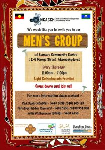 mens group flyer